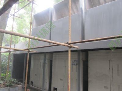 空调室外多联机噪声治理工程