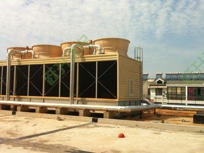 扬州超市冷却塔噪声治理工程