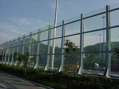 PC板/亚克力板/安全玻璃透明声屏障