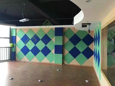 酒店/办公楼装饰吸声墙案例