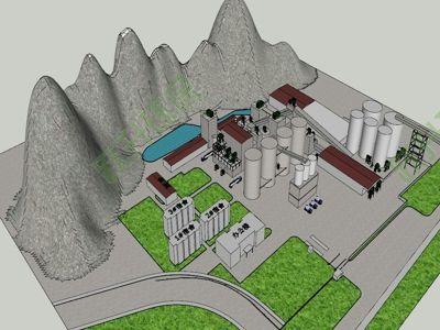 水泥厂噪音治理