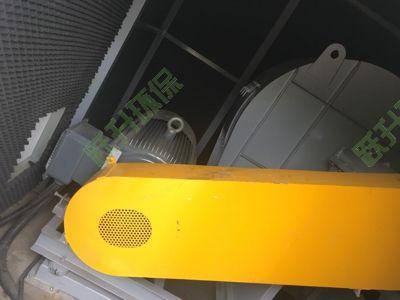 工业大风量除尘离心风机降噪案例