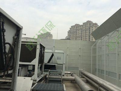 扬州风冷热泵空调机组噪音治理工程