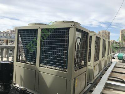 综合体热泵机组噪声是治理