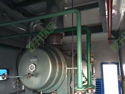 中盐红四方罗茨蒸汽压缩机噪声治理工程