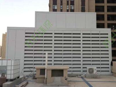 商业综合体机电设备噪声治理方法