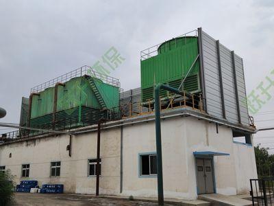 淮安化工厂厂界冷却塔噪音治理工程